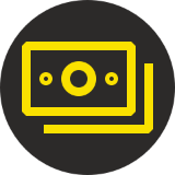 Yellow money logo