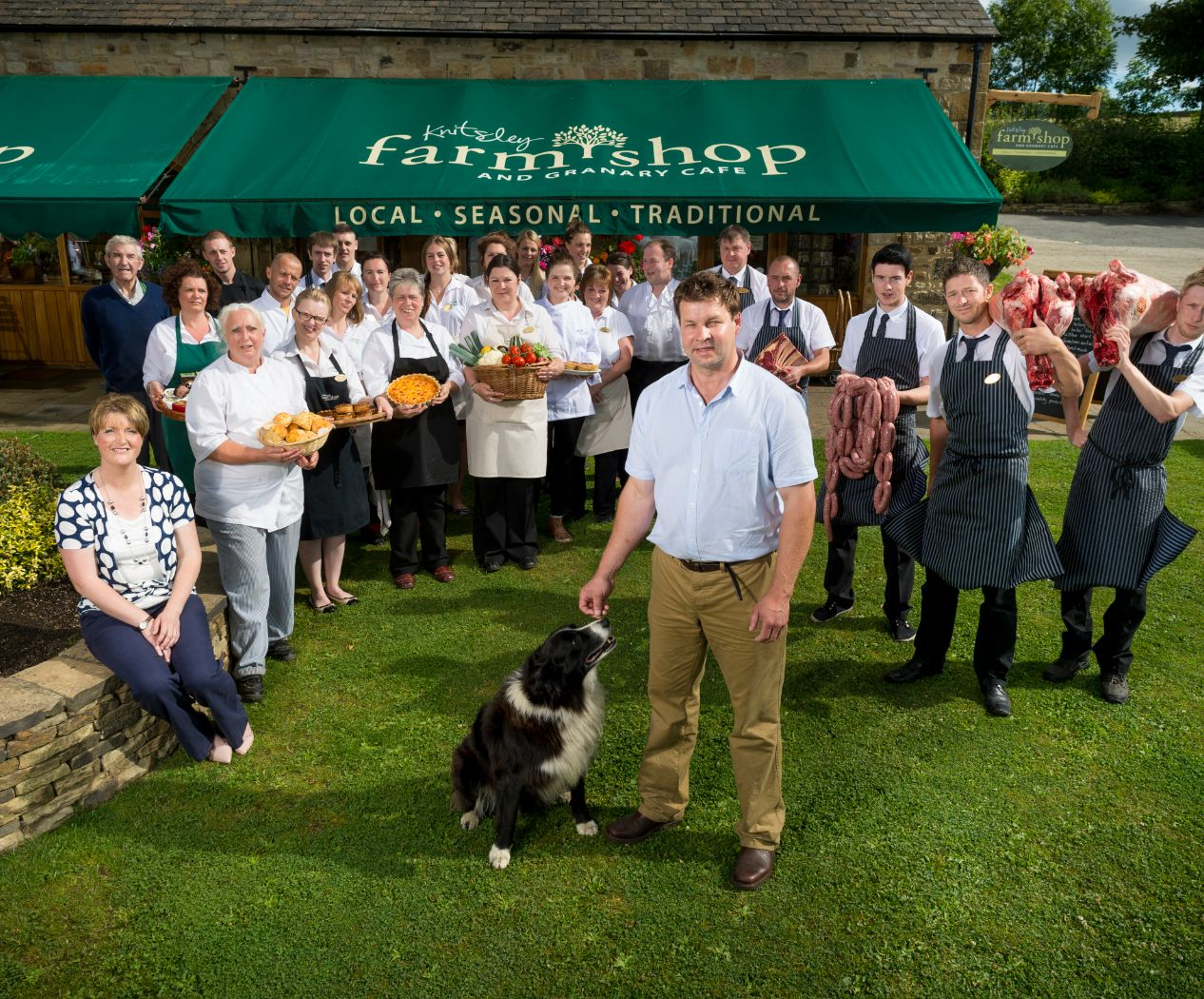 Image of Knitsley Farm Shop Staff